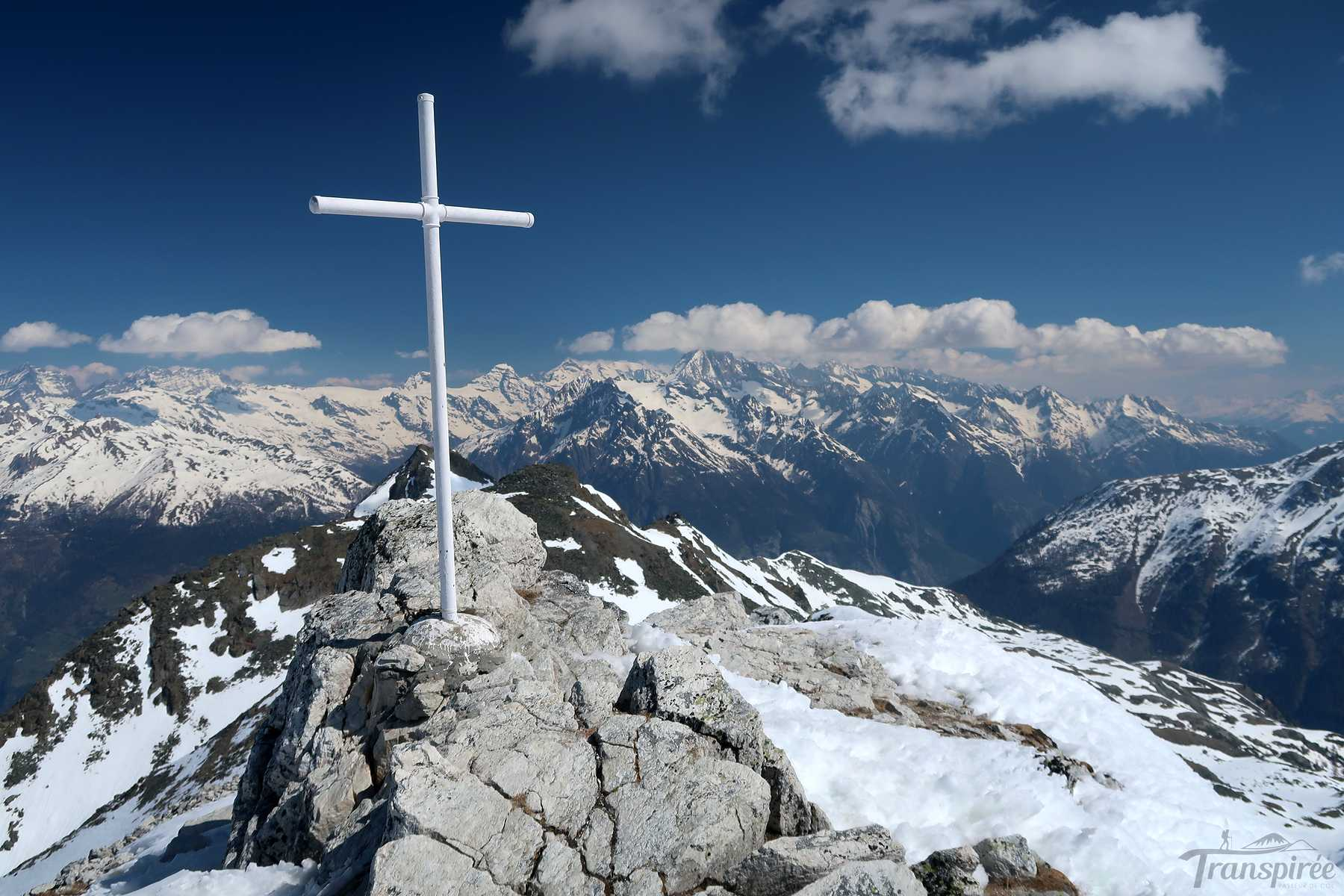 Ski de randonnée à Bella Tola depuis Saint-Luc et Chalet Blanc