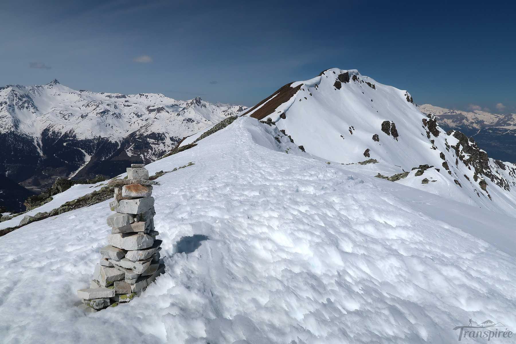 Ski de randonnée aux Pointes de Nava depuis Saint-Luc et l'Hôtel Weisshorn