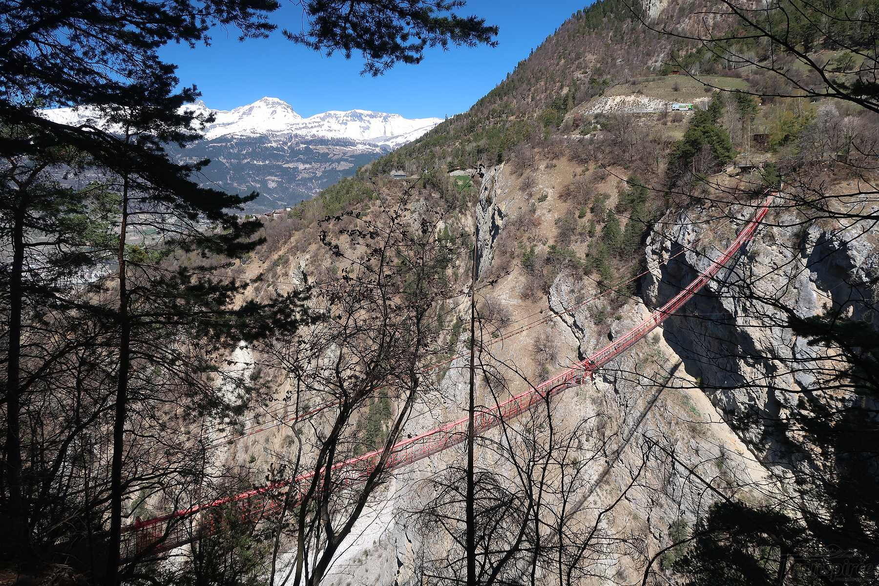 Randonnée au pont de Niouc depuis Vercorin