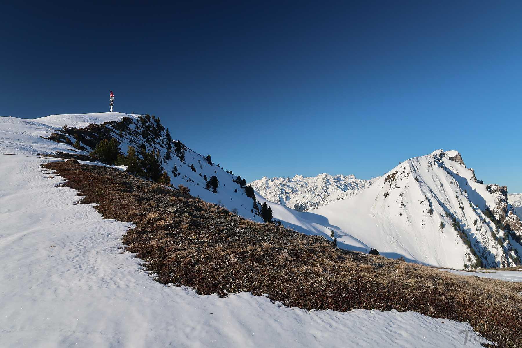 Ski de randonnée à Savoleyres depuis La Tzoumaz