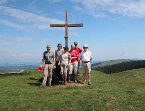 Randonnée au Niremont depuis la Goille au Cerf et le Rathvel