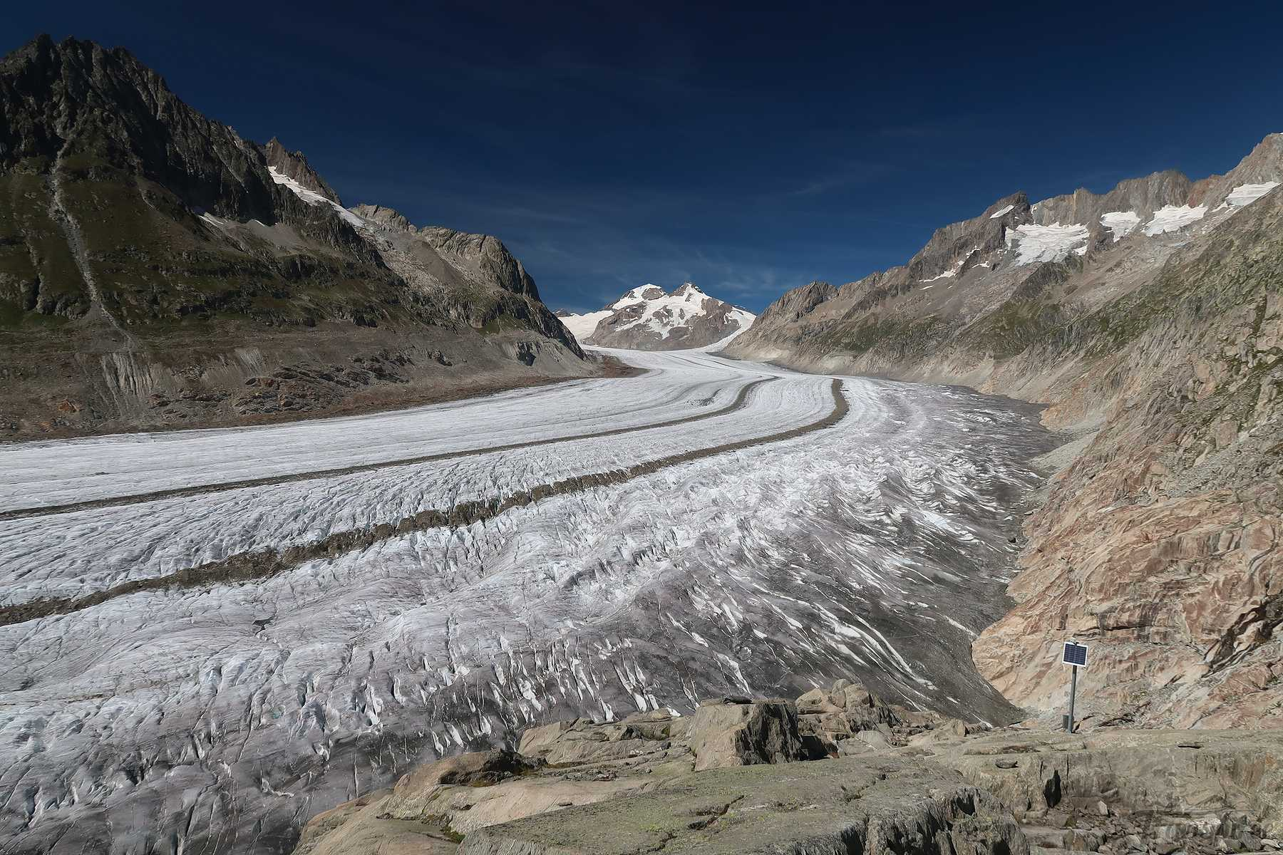 Randonnée au glacier d'Aletsch depuis Fiesch et le Märjenlenseen