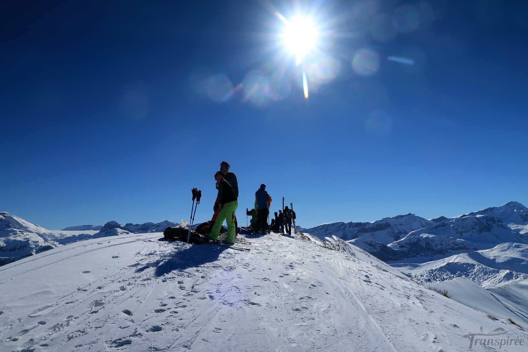 Ski de randonnée au Wistätthore depuis Turbach