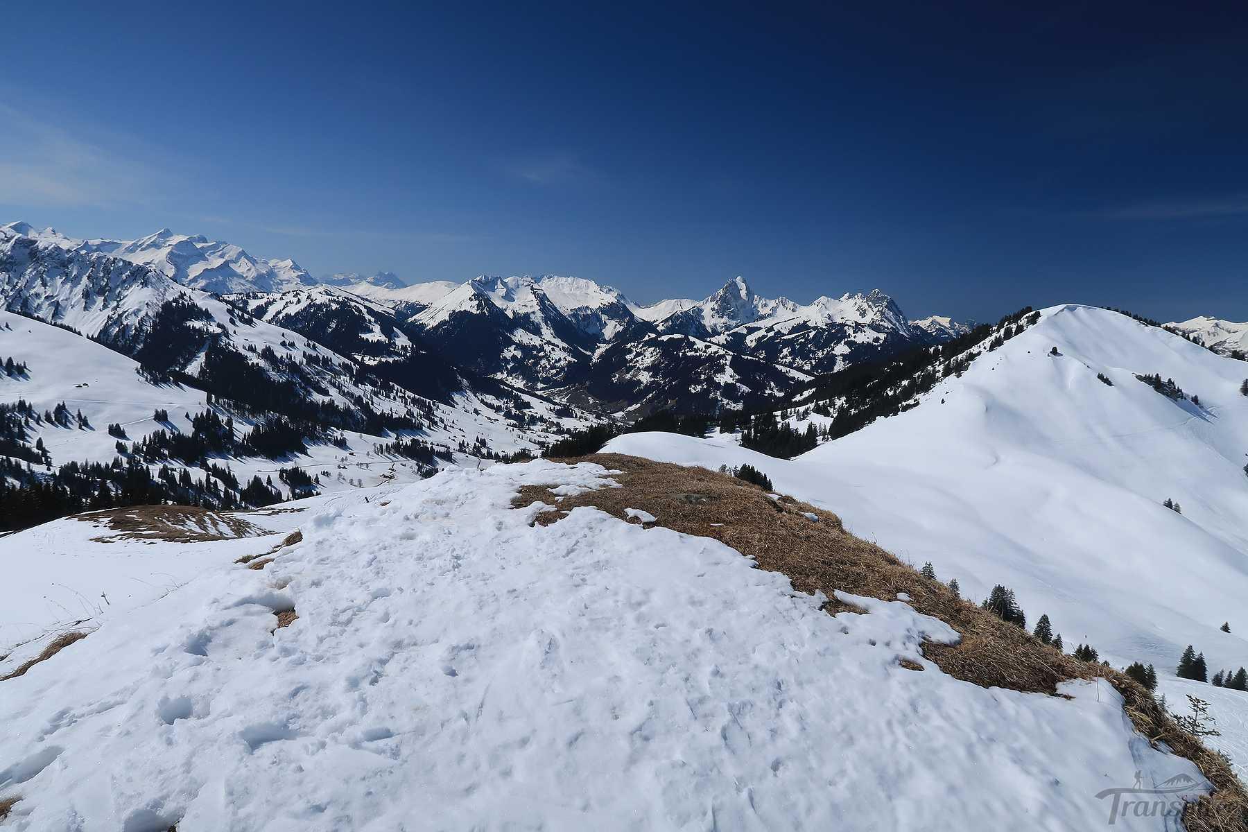 Ski de randonnée au Parwenge depuis Turbach