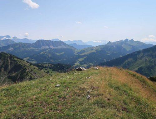 Randonnée à la Dent de Corjon depuis l'Hongrin et le Col des Gaules