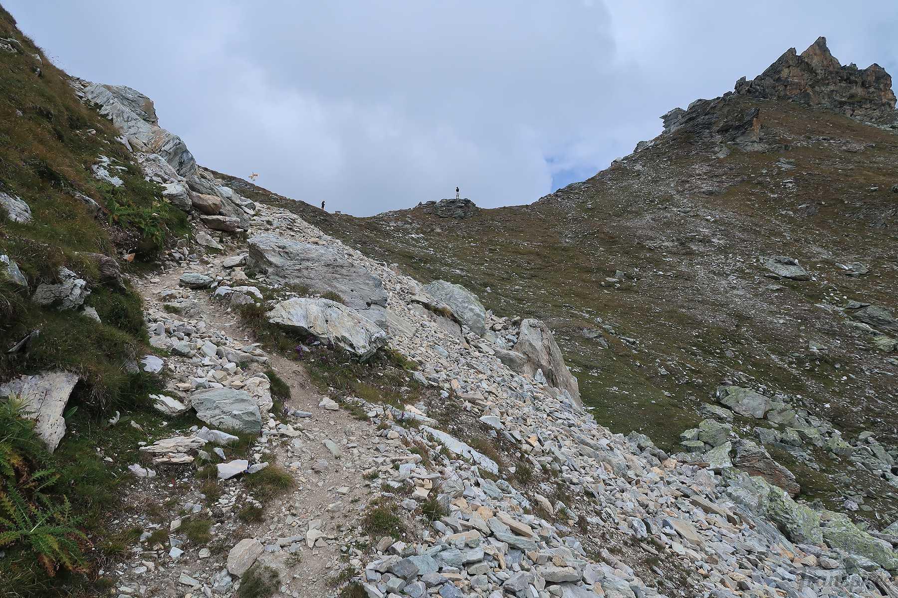 Randonnée au Col des Roux depuis la Grande Dixence