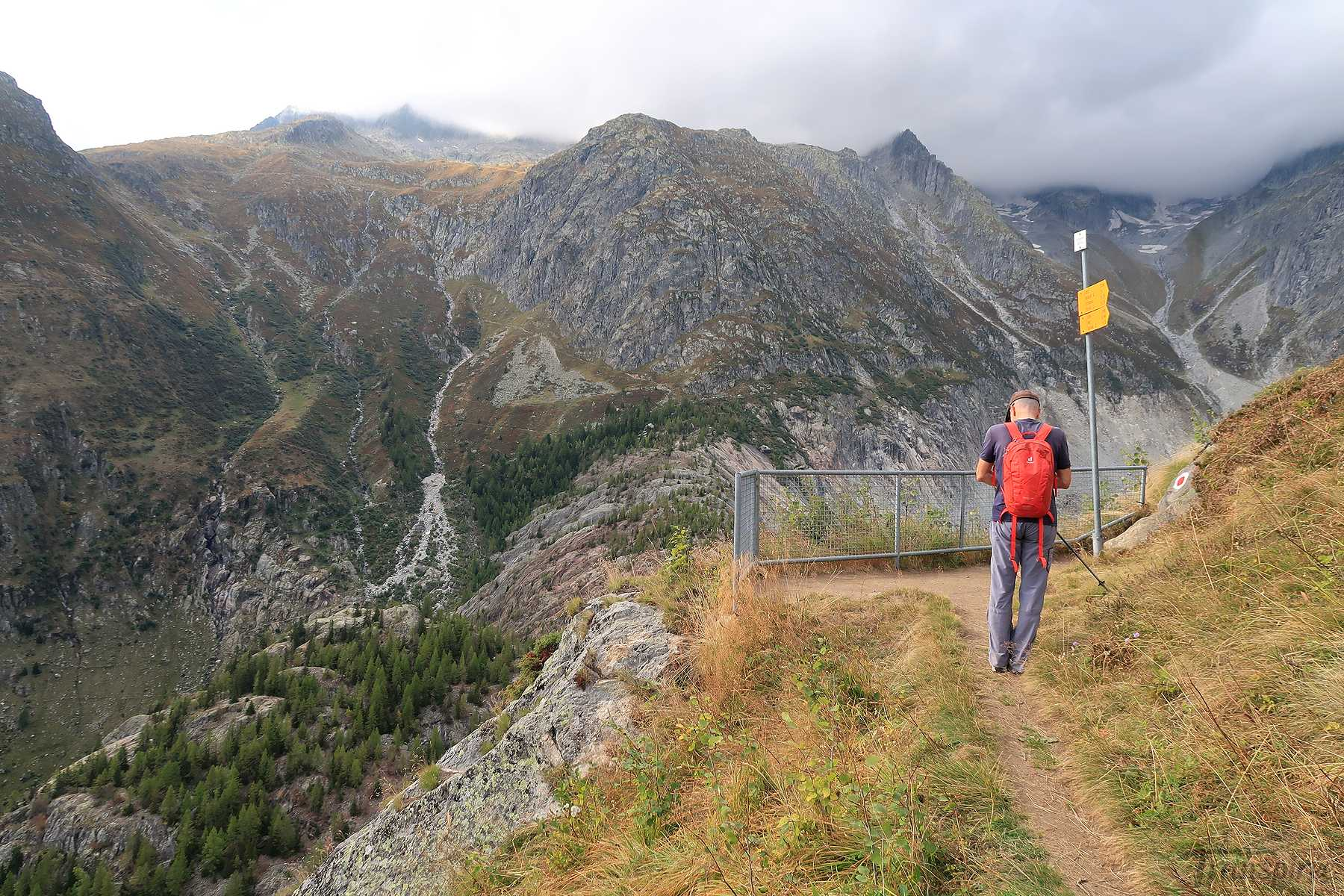 Randonnée à Shranni depuis Ried (Bellwald)